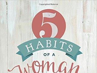 5 Habits of a Woman Who Doesn't Quit {A Book Review & Giveaway}