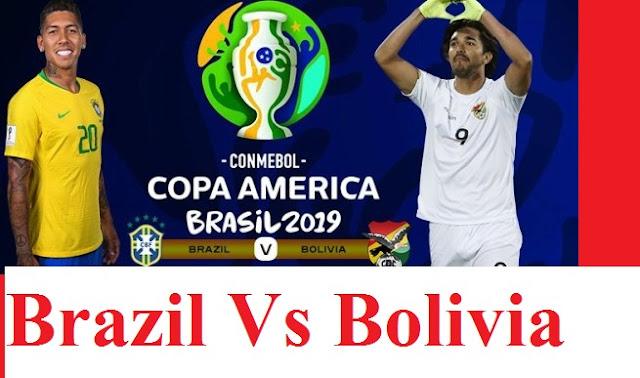 Brazil Vs Bolivia Copa America 2019 Highlights