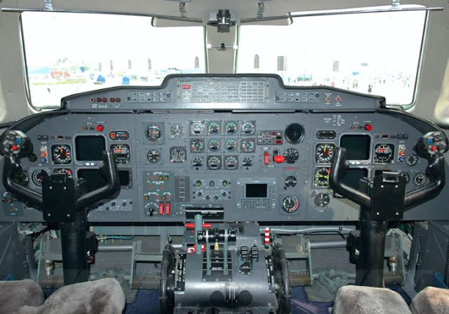 AVIC Xian MA60 Cockpit