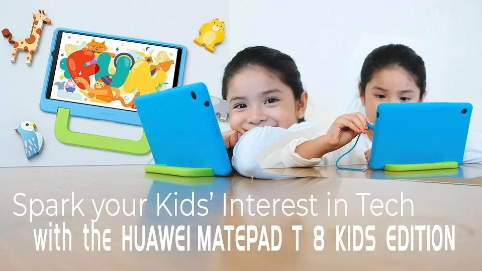 Spark your Kids' Interest in Tech with the Huawei MatePad T 8 Kids Edition