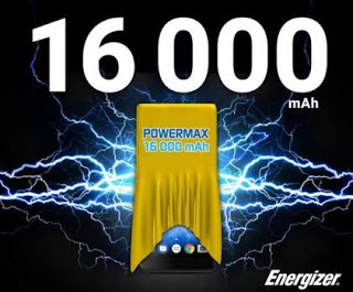 Energizer Power Max P16K Pro Arrive with 16,000mAh Battery