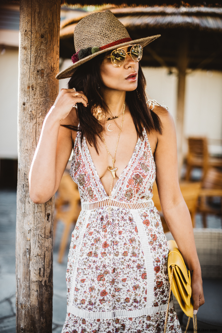 Zara Hats, Sun dress, Dita Sunglasses, rossmore la, Maui, how to dress for maui, Fashion Blogger, top fashion blogger, best fashion blogger,