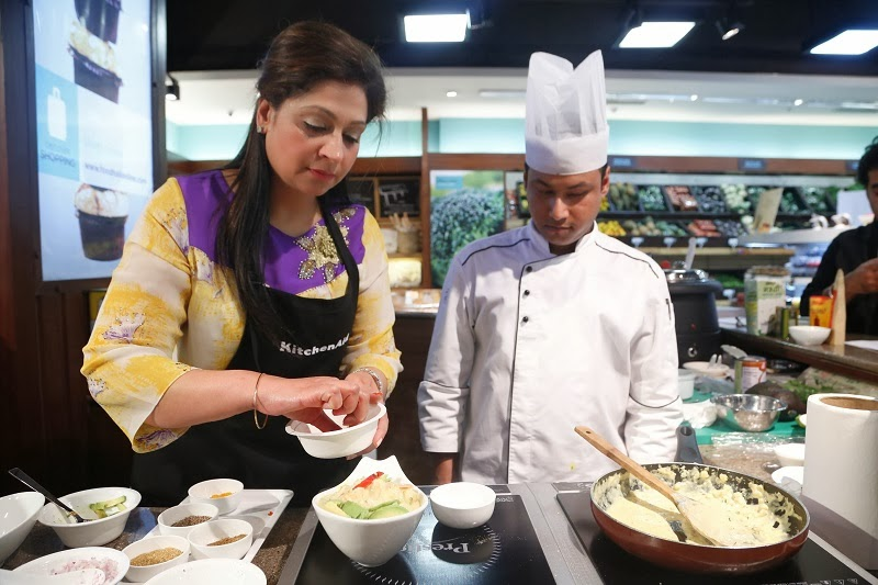 Kanchan Kapoor at Foodhall@Central