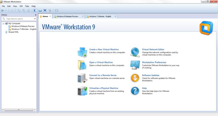 تحميل في إم وير وورك ستاشن الإصدار التاسع من الموقع الرسمي برابط مباشر لجميع الأجهزة وخصوصاً الأجهزة الضعيفة