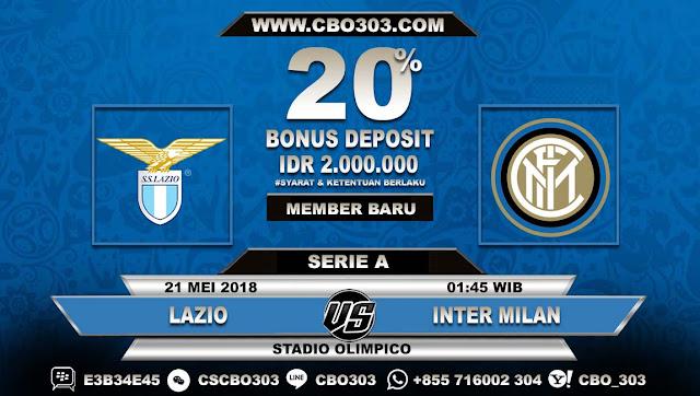 Prediksi Bola Lazio VS Internazionale 21 Mei 2018