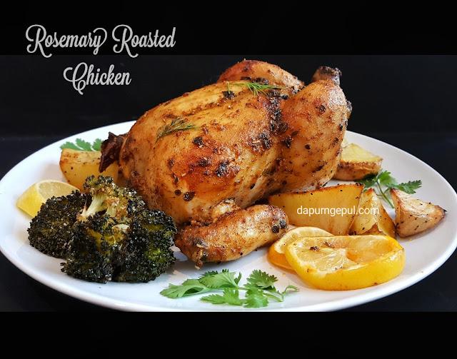 Rosemary Roasted Chicken by dapurngepul.com
