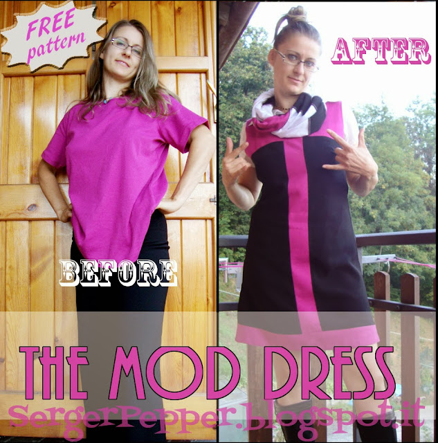 Serger Pepper - 2013 Wrap Up - 5 must read sewing posts - My favorite! - free mod dress