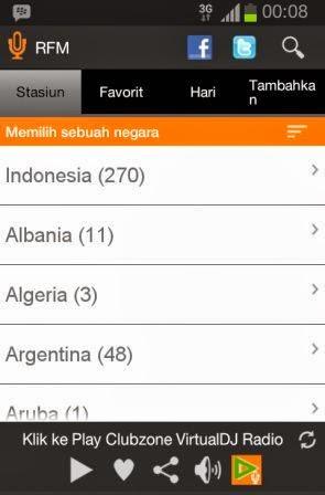 Aplikasi Android Untuk Radio Online Streaming