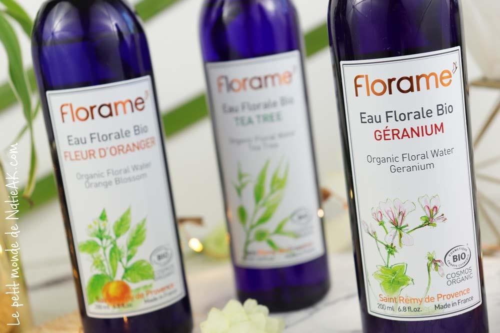 avis eau florale géranium bienfait Florame