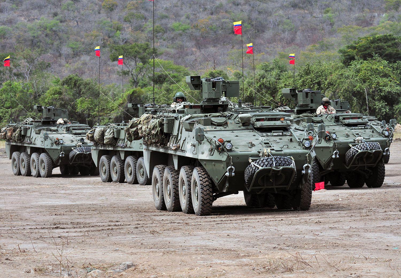 Resultado de imagen para vehículos de combate colombianos