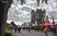 Hauptstraße in Wacken beim WOA 2017