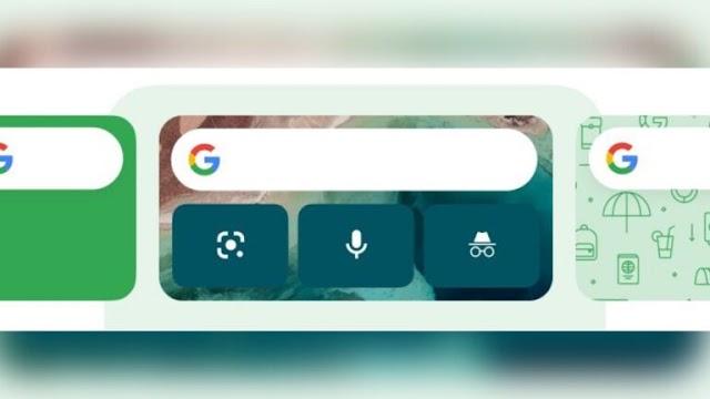 Google está trabajando en widgets de iOS personalizables, comenzando con el widget de búsqueda de Google