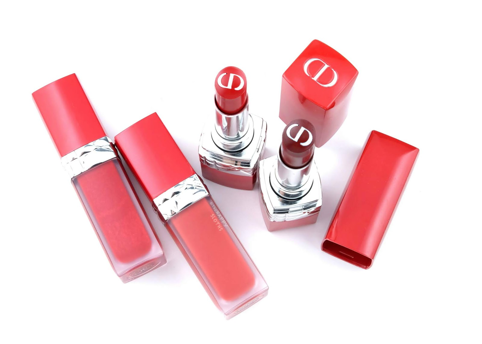 Dior | Rouge Dior Ultra Care Lipstick & Ultra Care Liquid Lipstick: Review and Swatches