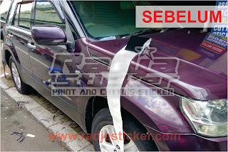 Wrapping Stiker Mobil