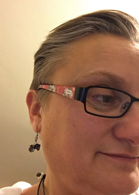 Madmumof7 wearing Cath Kidston frames from Specsavers