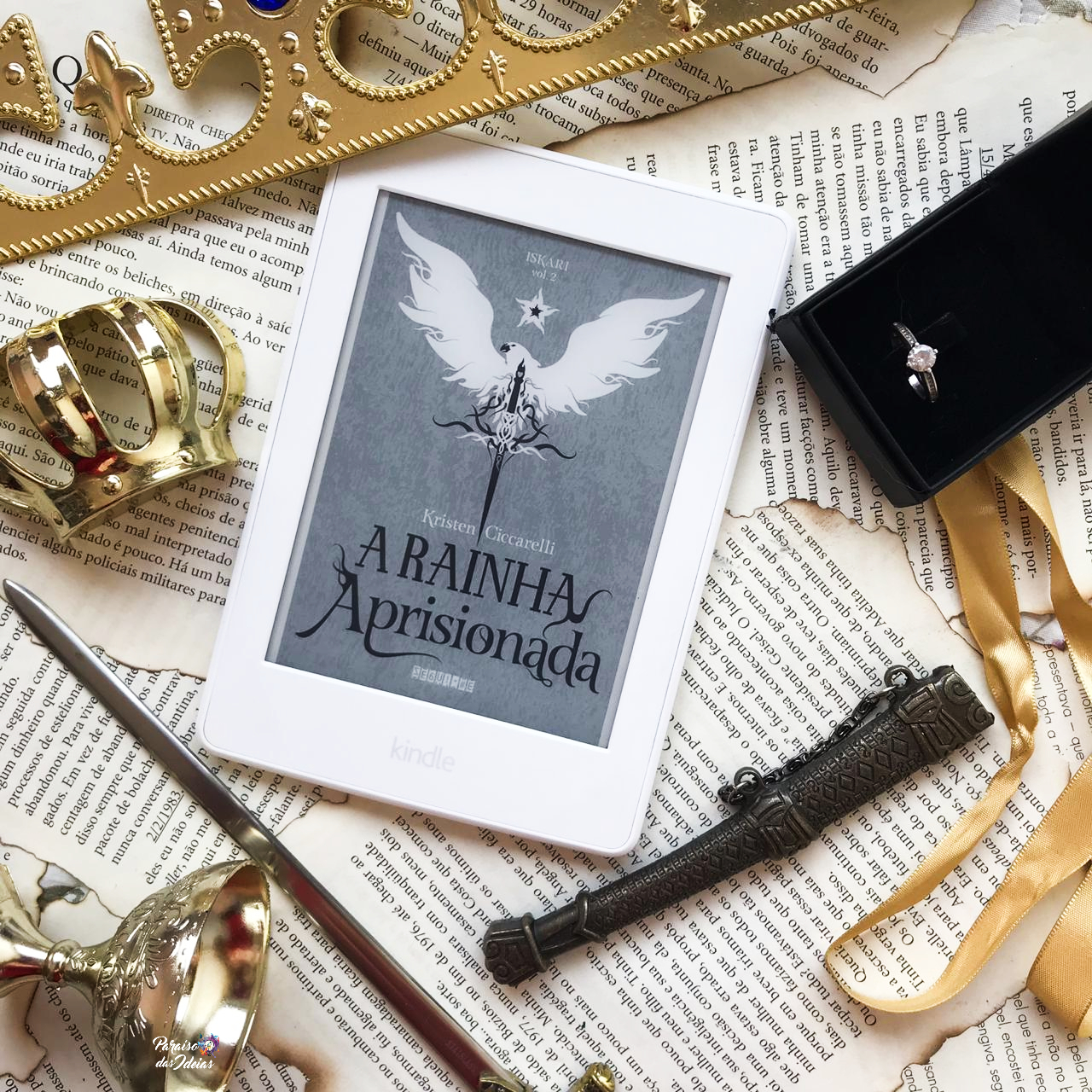 A Rainha Aprisionada - Iskari 2 || Kristen Cicarelli