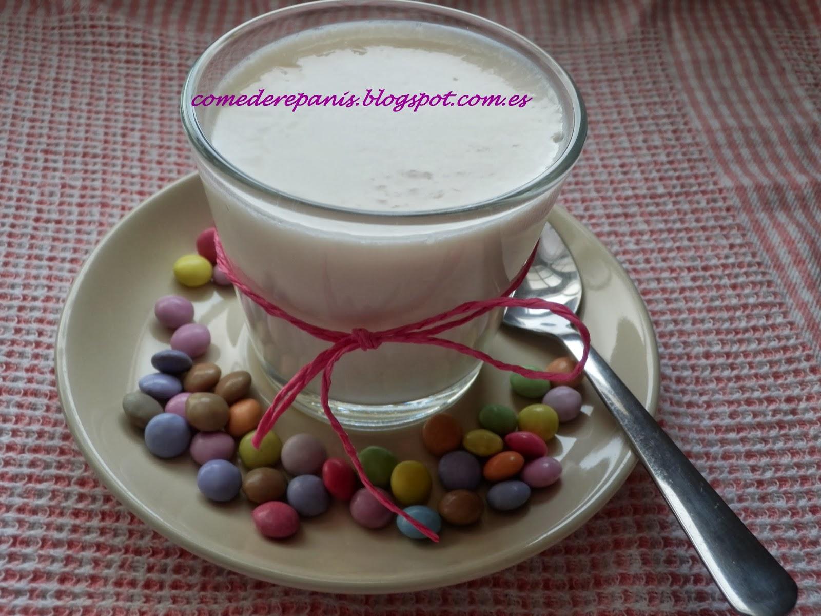 Yogur casero sin yogurtera