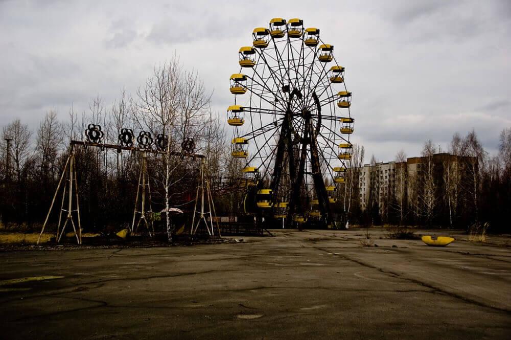 Çernobil Bölgesi Pripyat Ukrayna