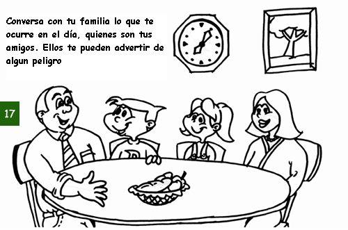 conversar familia