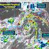 """La Depresión Tropical """"Catorce"""" se desplaza hacia la Península de Yucatán"""
