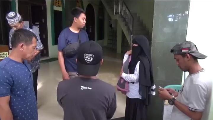 Maling Motor di Masjid Rahmatu Umma Gowa Terekam CCTV, Berikut Ciri-cirinya