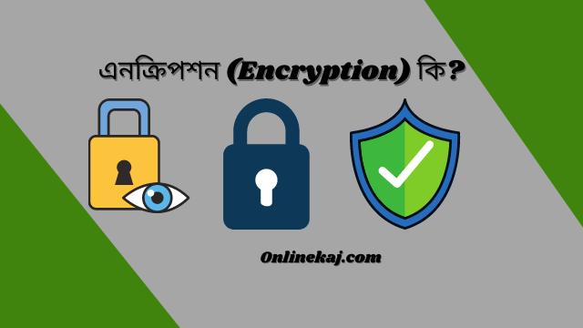 এনক্রিপশন (Encryption) কি? এনক্রিপশন কীভাবে কাজ করে?