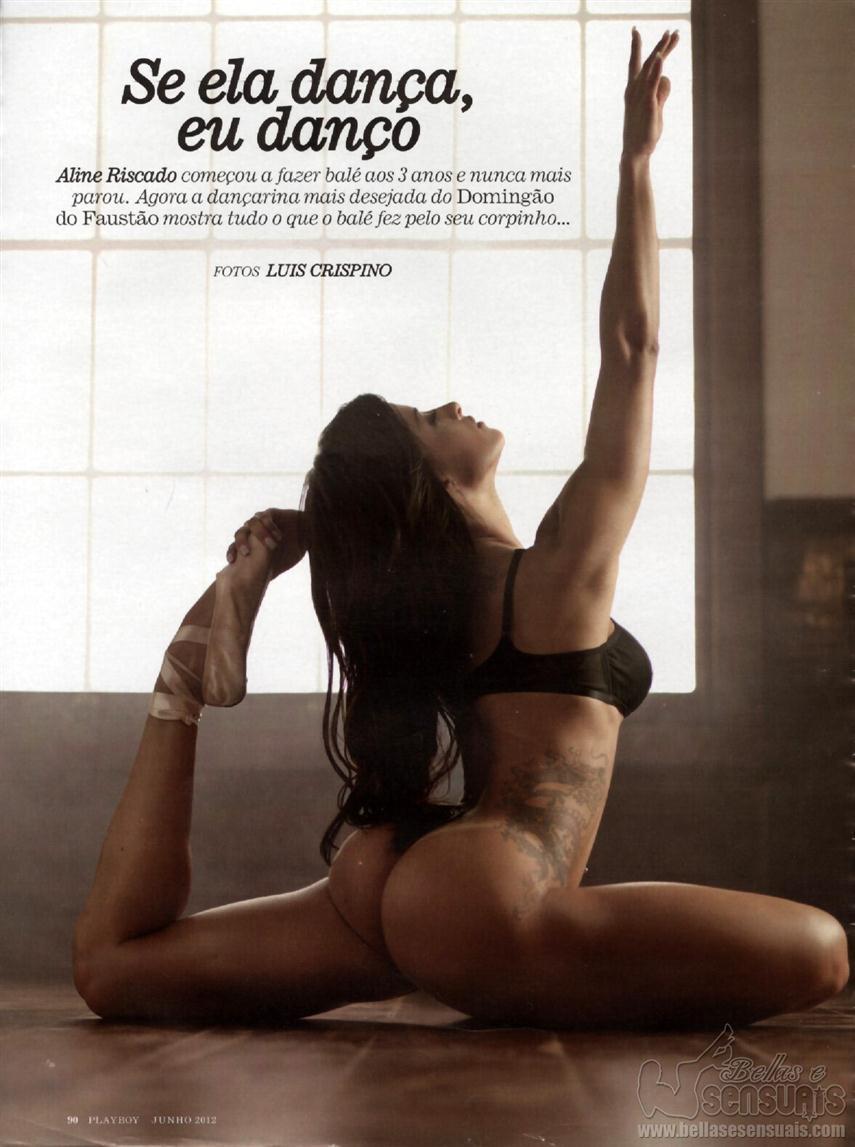 Aline Riscado Playboy making offs brasil: aline riscado - playboy junho 2012