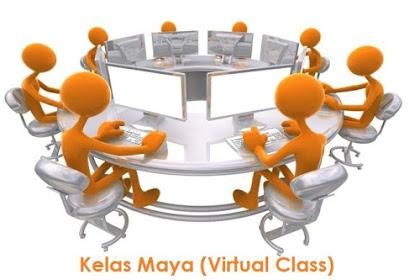 Komponen Pendukung Kelas Maya | Pengertian Kelas Maya (Virtual Class)