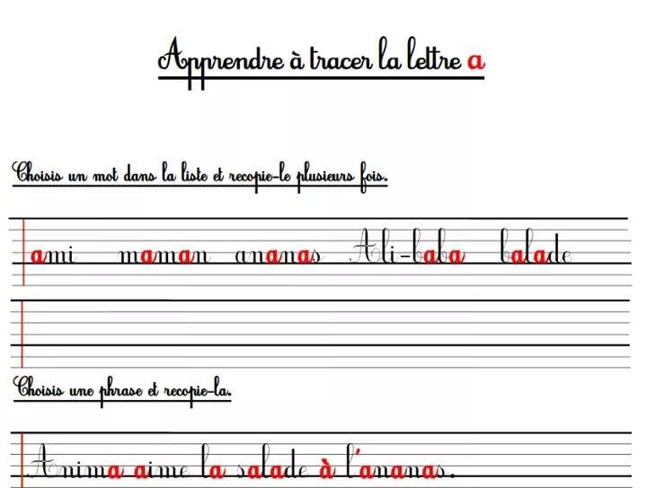 Apprendre Les Lettres De Lalphabet ساعد طفلك على كتابة