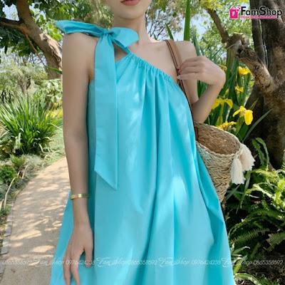 Váy maxi đi biển V293