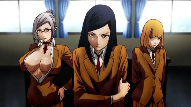 prison school anime student council