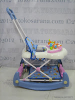 E 2 in One Royal RY8188 Circus Baby Walker and Rocker