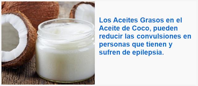 Los Aceites Grasos en el Aceite de Coco, pueden reducir las convulsiones en personas que tienen y sufren de epilepsia