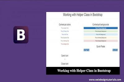 Bootstrap   Helper Classes