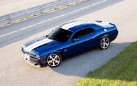 Dodge Challenger SRT8 392 blue