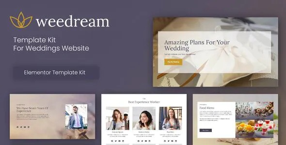 Best Wedding Elementor Template Kit