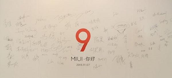 MIUI 9 bắt đầu đi vào phát triển