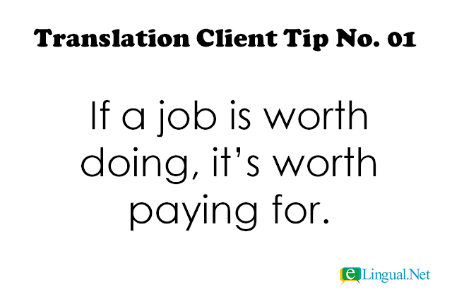 Tips For Translation Clients
