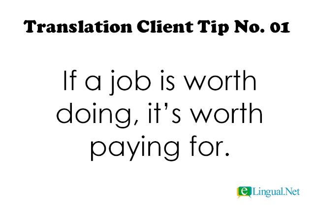 Translation Client Tips