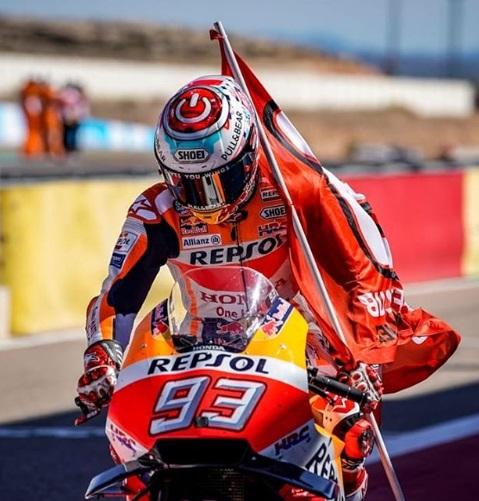 Marc Marquez siap jadi Juara Dunia MotoGP 2018