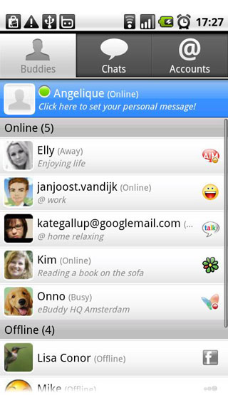 ebuddy messenger for android