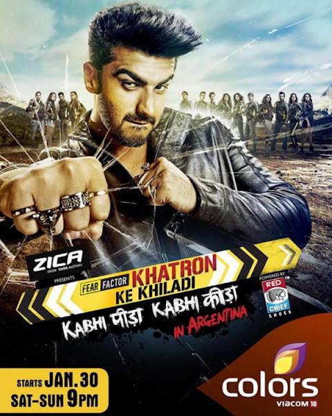 Poster of Fear Factor Khatron Ke Khiladi Season 7 Episode 1 (30 January 2016)