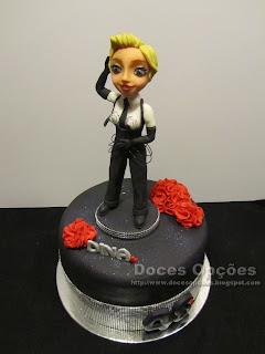 Madonna birhday cake
