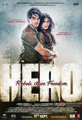 Hero 2015 Hindi Full Movie DVDScr 350mb