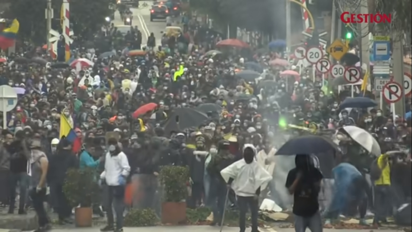 Colombia protests: UN 'deeply alarmed' by bloodshed in Cali