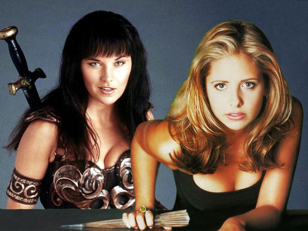 Xena contro Buffy antro SNF
