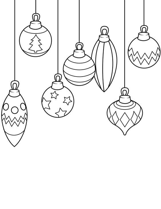 Tô màu đèn Noel