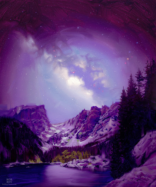 Galactic Range by Rob Rey - robreyfineart.com