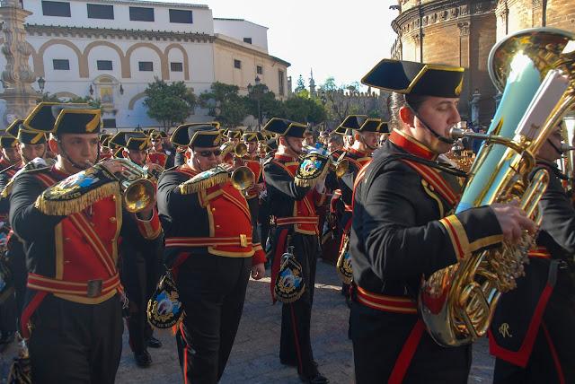 Banda música Madrugá Semana Santa Sevilla