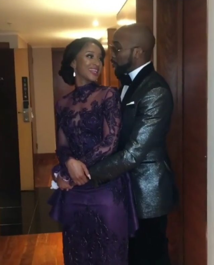 #BAAD2017: Checkout Banky W and Adesua Etomi's 2nd wedding outfits